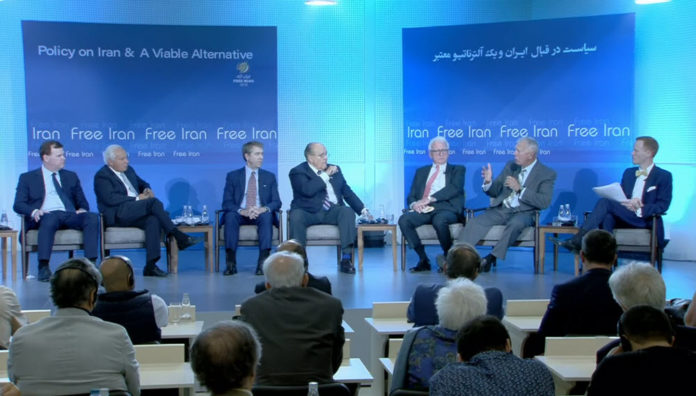 Conference at MEK Headquarters: Policy on Iran and a Viable Alternative