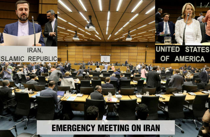 IAEA Meeting on Iran's Breaches