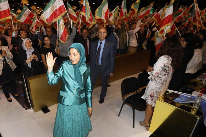 MEK rally speeches