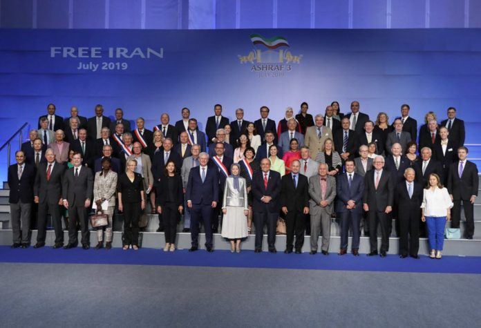 Maryam Rajavi says Iran's people have resisted against dictatorships for 120 years