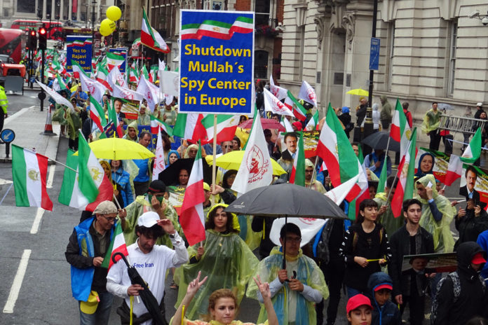Hendon MP Addresses Iran Resistance Rally