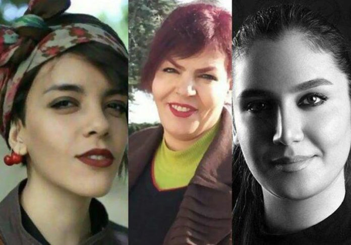 Three Female Iranian Activists Sentenced to 55 Years in Jail