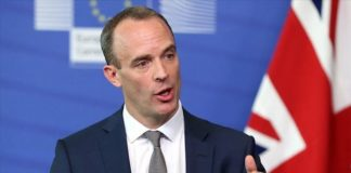 The British Foreign Secretary Dominic Raab has condemned the Iranian Regime for breaching assurances over the Adrian Darya 1 oil tanker and the destination of its oil.