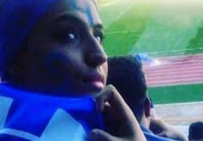 It was widely reported on Tuesday that an Iranian woman had died in the hospital approximately a week after setting herself on fire outside the courthouse where judgement was pending in a case initiated against her after she tried to enter a stadium in defiance of the longstanding ban on female attendance at men's sporting events.