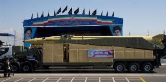 "Senior Revolutionary Guards Commander Amirali Hajizadeh said Iran was ready for a ""full-fledged"" war"