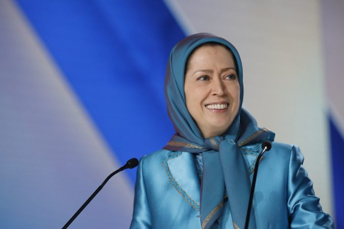 Maryam Rajavi, the President-elect of the Iranian Resistance, gave an impassioned speech at the headquarters of the Iranian opposition
