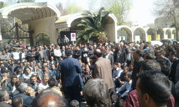 worker protest in Iran