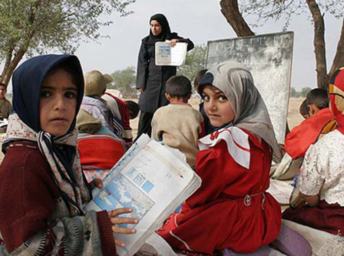 This academic year, starting today in Iran, there will be around 15 million Iranians in elementary and high school