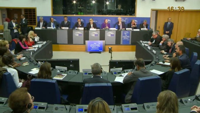 Conference held at the European Parliament in Strasbourg on the situation of human rights in Iran and the correct EU policy on Iran