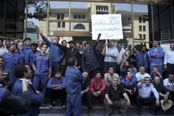 Iranian workers