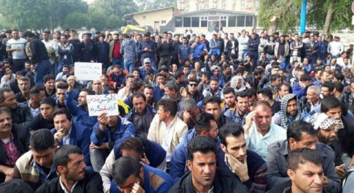 Iran labor Protests