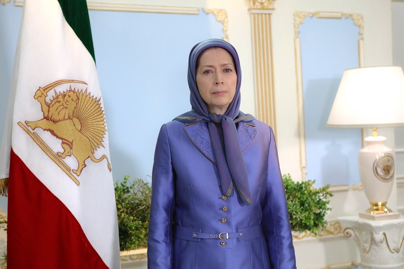 Maryam Rajavi the President-elect of the National Council of Resistance of Iran (NCRI)