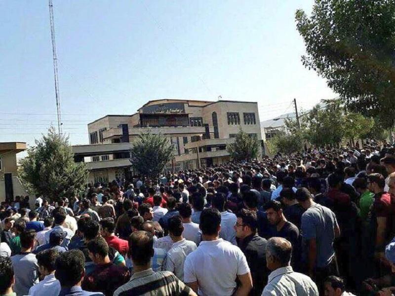 labor protests in Iran