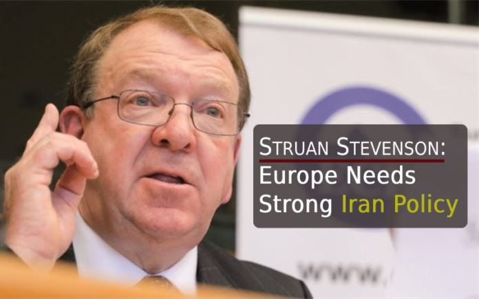 Struan Stevenson: Europe Needs Strong Iran Policy