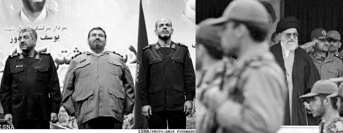 The Khatam Al-Anbia base is part of the IRGC