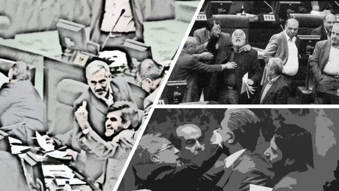 Iran-majles-infightings