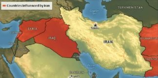 Iran influence in the ME