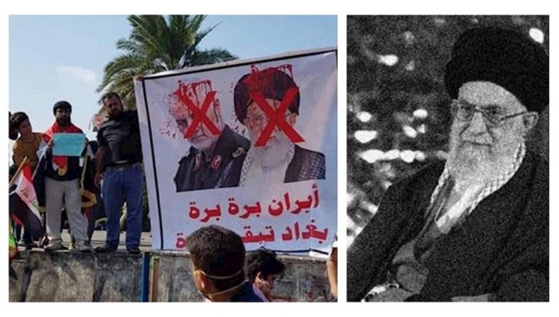 Iraqi people against Iran regime