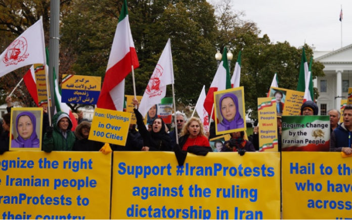 MEK Supporters in Europe Hold Solidarity Protests with Iranian People