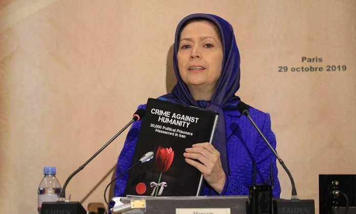 Maryam Rajavi, the leader of the Iranian opposition