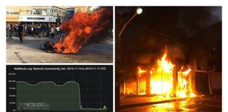 iran uprising net blocks reports internet cutoff