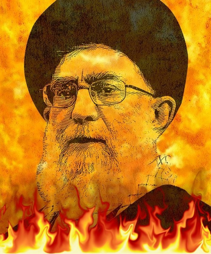 Iran Rocked by Protests as Images of Khamenei Set on Fire