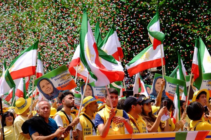 Iranian people in exile - in support of the MEK/PMOI