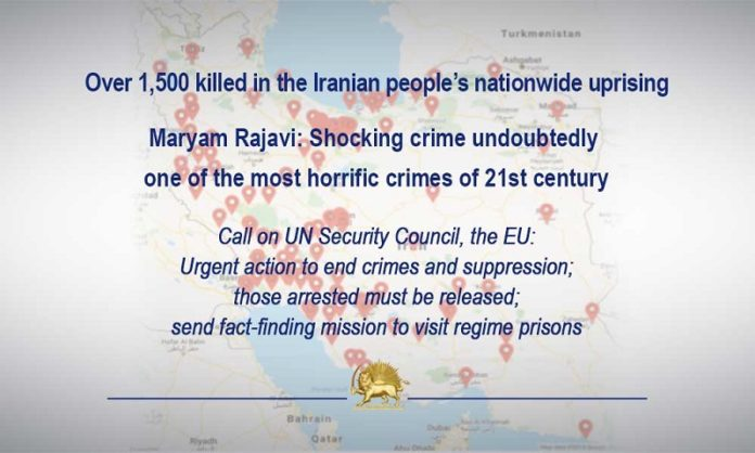 Maryam Rajavi: The uprisings of December 2017-January 2018, and the uprising of August 2018 were also suppressed by Khamenei, but they gave impetus to November 2019 uprising.