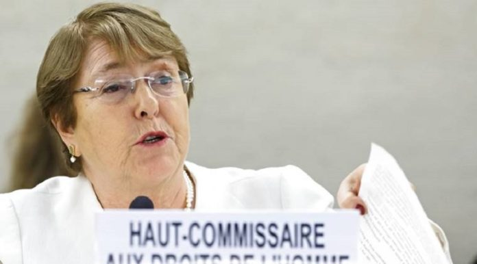"""UN Human Rights Chief: Iran Regime's Security Forces Were """"Shooting to Kill"""" Protesters"""