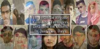 The Iranian regime brutally killed 20 teenagers and detained 116 others in just two days