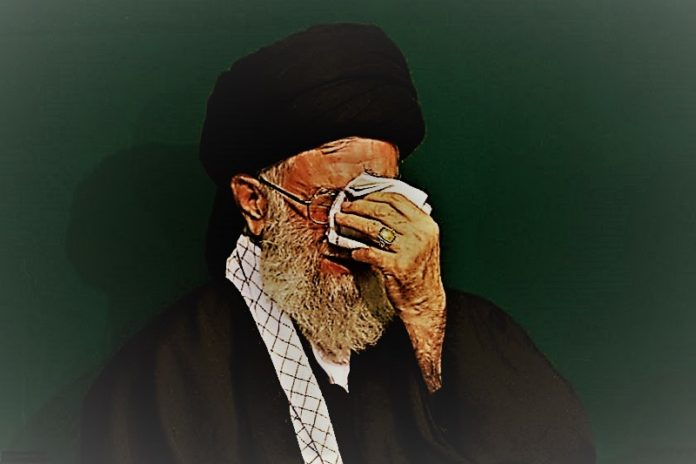 """""""Down with Khamenei! Down with Rouhani! Mullahs must get lost! Neither Gaza nor Lebanon, my life is for Iran! 40 years of dictatorship is enough!"""" the Iranian protesters chanted during the November protests."""
