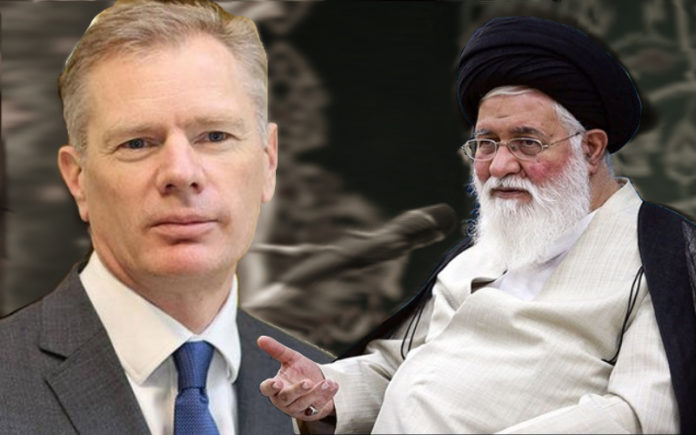 The representative of Khamenei calls for chopping the UK ambassador into pieces, let alone the fate of detained protesters in regime's dungeons