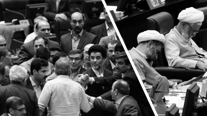 One of the consequences of nationwide protests that shook Iran in November and December is the intensification of infighting among regime officials.