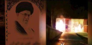 Iranians torch images of regime dictator Khamenei, Qassem Soleimani