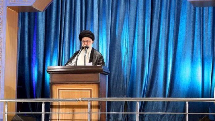 Khamenei's Speech at Friday Prayer Sermon Demonstrates His Absolute Deadlock