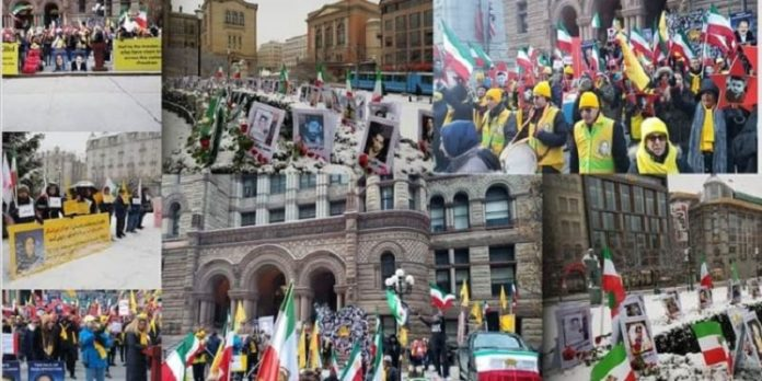 Supporters of PMOI/MEK across the world Rally in Solidarity with Iran Protests