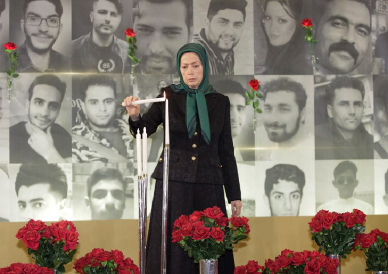 Maryam Rajavi salute the brave protesters who are standing up for freedom in the last November