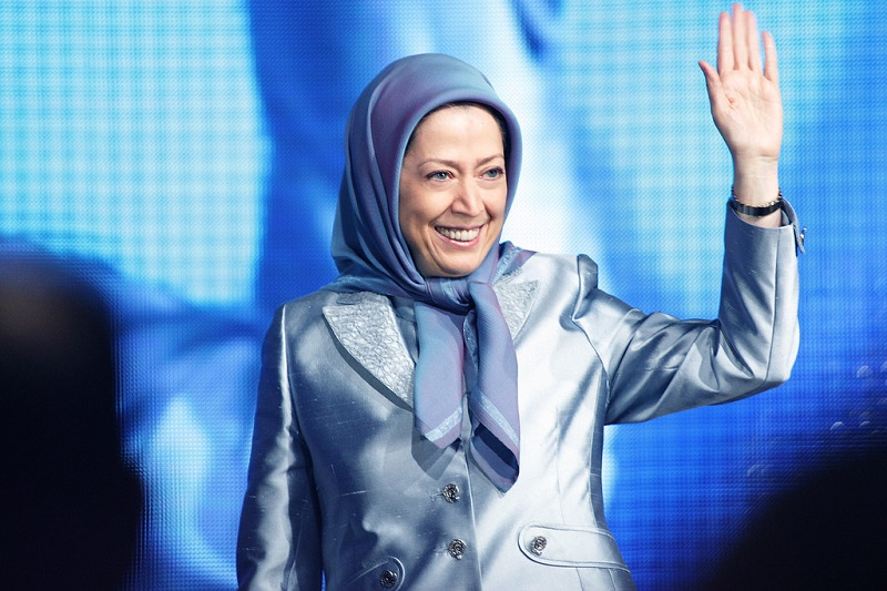 Maryam Rajavi a woman who fights, endeavors, struggles and has made an all-out resistance against oppression and the fascist Iranian regime.