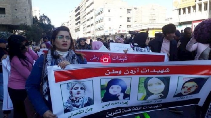 Iraqi women raise and march in condemning the Iranian regime's influence and its mercenaries' nonsense