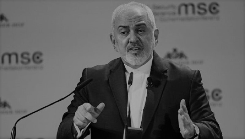 Iranian regime Foreign Minister Mohammad Javad Zarif delivered a speech at the Munich Security Conference