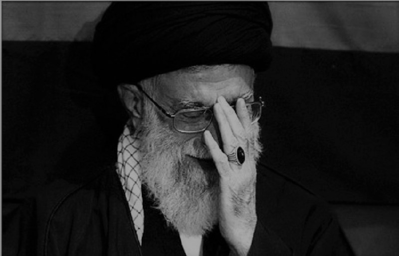 Iranian regime Supreme Leader Ali Khamenei voicing grave concerns over what the future holds for the Iranian regime, and said even if you don't like for Iran you must participate in the election.