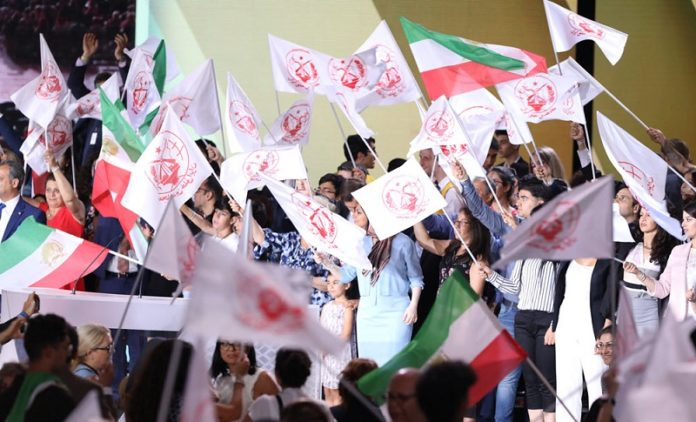 MEK-PMOI supporters