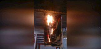 MEK network torches Qassem Soleimani posters across Iran