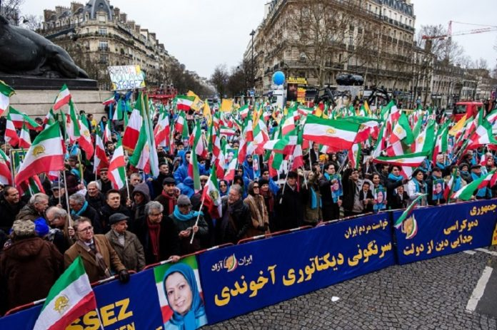 MEK-PMOI supporters reject the Mullahs' regime
