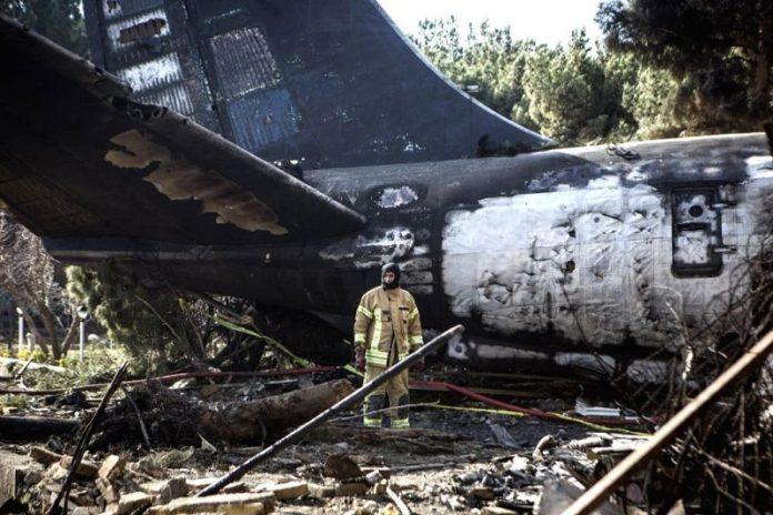 Ukraine plane crashes in Iran, 179 killed