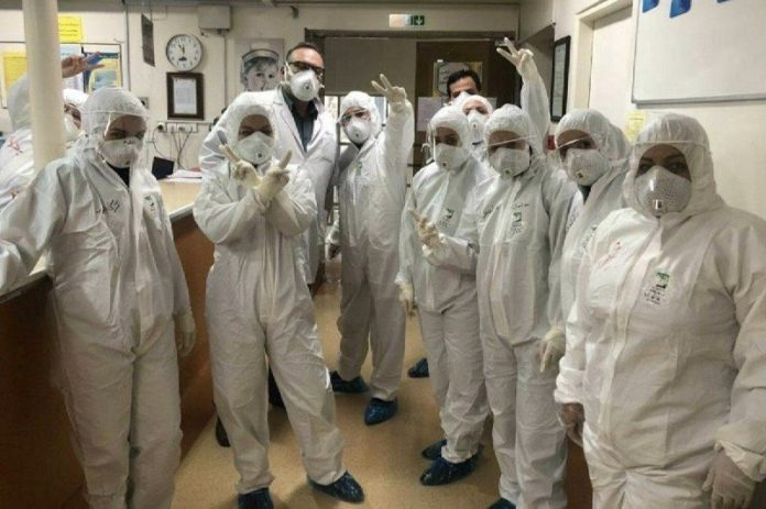 While Iranian doctors, nurses, and medical staff relentlessly endeavor to contain the coronavirus outbreak and treat patients, the government doesn't pay adequate care to these noble people