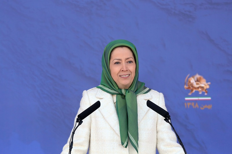 Maryam Rajavi, the president-elect of the NCRI delivered a speech on 41st anniversary of the Iranian Revolution