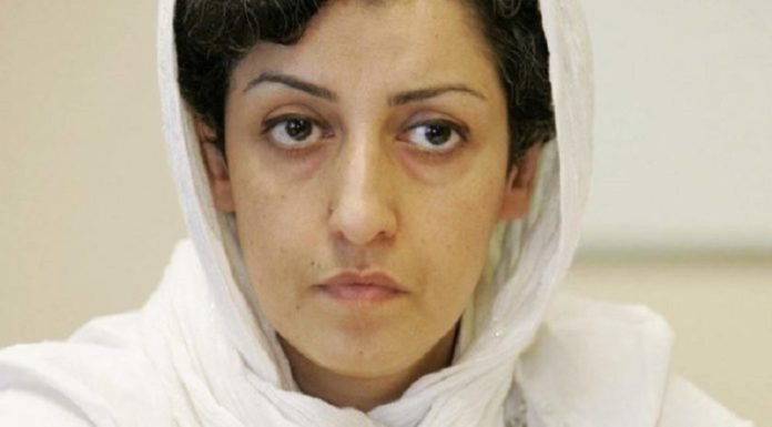 Narges Mohammadi is an Iranian human rights activist and the vice president of the Defenders of Human Rights Center