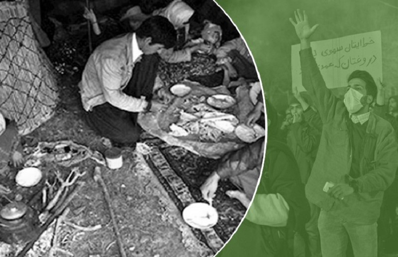 Iranian regime's supreme leader Khamenei wants to preserve his rule at the cost of countless lives, which flamed even the fear and criticism of the regime's officials