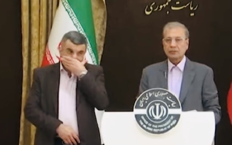 Iran regime failed to protect its officials let alone containing the coronavirus-20200420